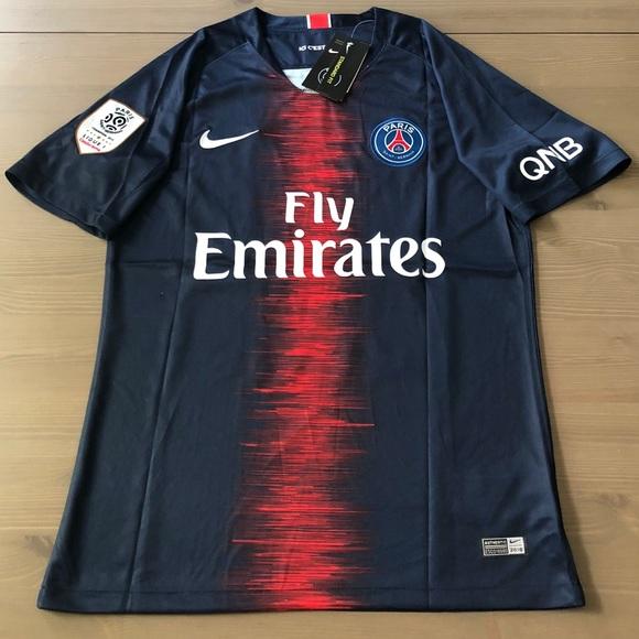 a2c87c07a05 PSG Paris Saint Germain Mbappe  29 Soccer Jersey. NWT. nike.  40  110. Size.  S